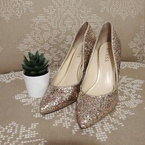 Guess | Glitter New Year's Eve Party Heels